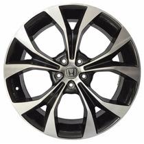 Roda Honda Civic Aro 20 5x114 Preta Diamantada R29 Krmai