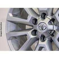 Jogo Rodas Toyota Hilux Sw4 2016 Aro 20 6x139 S10 +pneus