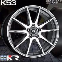 Roda Krmai K53 Aro 20 5x100 Gd Golf Polo Bora Audi Fox