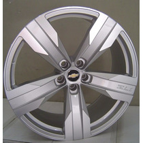 Roda Camaro Zl1 Aro 20x7,5 Hyper Prata 5x105 Cruze