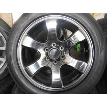 04 Rodas Toyota Prado Aro 20 X 8,5 6x139 Cromoblack Usadas
