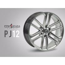Jogo Roda Esportiva Aro 24 Presenza Wheels Pj12 Cor Hys