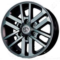 04 Rodas Toyota Hilux 2012/sw4 Réplicas Kr R37 Aro 22 6x139