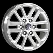 Jogo De Rodas Réplica Krmai R37 22 Toyota Hilux Silver Star