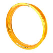 Aro Roda Alumínio (un) 2.50 X 18 Monaco - Dourado Brilho