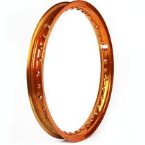 Aro De Moto Alumínio 18 X 1.85 Fabreck Colorido - Dourado
