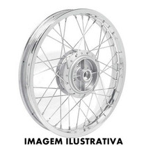 Roda Traseira Montada Honda Cg Titan Esd Job Mix Ks Es 150 $