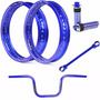 Kit Viper Aros Motard + Acessórios Fan Ks Es Esi Esdi Azul