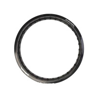 Aro De Roda 19x185 Alumínio Preto - Viper