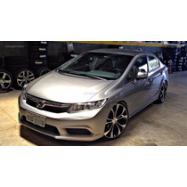Rodas Honda Civic Aro 17+ Pneus Gol Corsa Civic Fit City