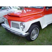 Rural Jogo De Sobre-aros Da Roda Aro 15 Willys Ou Ford Novos