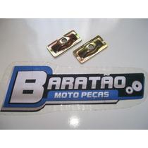 Placa Esticador De Corrente (par) Honda Cbx 200 Strada Nx Xr