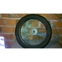 Roda Dianteira Tdm 225 C/ Pneu Pirelli 100/90-18 Dura Spirit