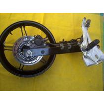 Roda Dianteira E Traseira Da Cb 300 Ano 2013 Usada