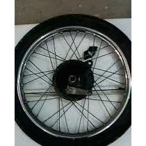 Clipton Roda Dianteiracompleta Com Pneu Cubo Yamaha Clipton