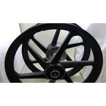 Roda Titan 150 2014 6p Preto Disco Par Scud Cod 10370056