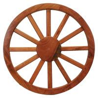 Roda De Carroça Grande Madeira Maciça Lei Rustica Fazenda