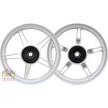 Jogo Roda Tambor Fan 150 Esi 2010 A 2013 Mod. Cb 300 Branca