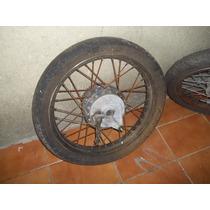 Roda ( Par ) Moto Titan 125 Ano 1999