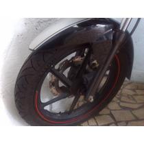 Roda Dianteira+pneu+disco De Freio Da Dafra Apache 150cc