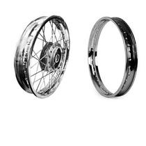 Roda Raiada 18x185 Titan Cg150 Traseira + Aro Mod:original