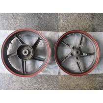 Jogo De Rodas Honda Cbx250 Twister Usadas