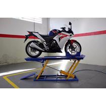 Elevador Pneumático Para Motocicletas Chapa Lisa P/250 Kg