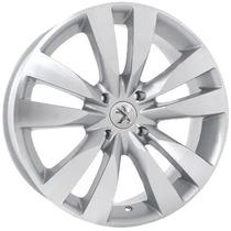 Roda Peugeot 307 Europeu Aro 14 - 4x108 Silver Diamond