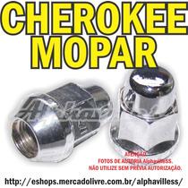 Cherokee Wrangler Dakota Porca Cromada Mopar Roda Unitário