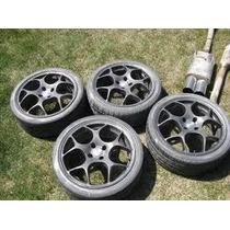 Rodas Tsw 17 Importadas Itália Com Alumínio Especial
