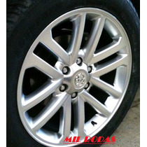 Roda Aro 17 Toyota Hilux - Pintada Prata - 6x139,7