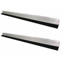 Vedante/protetor Kit Com 2 De Porta Em Alumínio 80 Cm