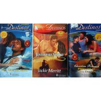 Pacote/lote 3 Romances - Harlequim Destinos