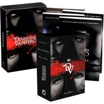 Box Diários Do Vampiro Com 7 Livros (2 Box) - 100% Original