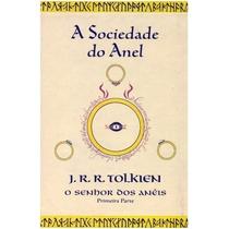 Livro - O Senhor Dos Anéis 1 - Ilustração Da Capa Tolkien