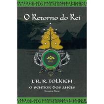 Livro - O Senhor Dos Anéis 3 - Ilustração Da Capa Tolkien