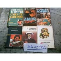 Lote Com 22 Livros Literatura Internacional Romances