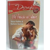 Romance Harlequin Desejo 2 Histórias Nº099 - Frete Grátis
