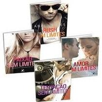 4 Livros Abbi Glines Paixao Rush Amor Tentação Sem Limites