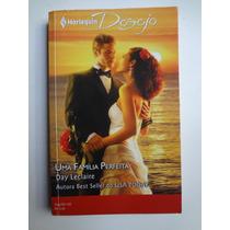 Livro Harlequin Desejo Uma Familia Perfeita Ed. 162