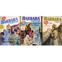 Lote 3 Livros - Romances Com Coração Barbara Cartland Dupla