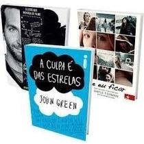 Livros A Culpa É Das Estrelas+se Eu Ficar+o Lado Bom Da Vida