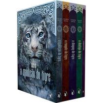 Livro Box A Maldição Do Tigre (4 Vol) Colleen Houck Lacrado