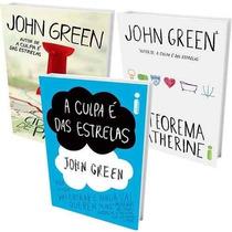 Kit John Green ( 3 Livros) A Culpa É Das Estrelas + 2 - Novo