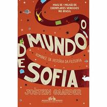 Livro - O Mundo De Sofia - Novo - Lacrado