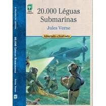 Livro - 20.000 Leguas Submarinas - Julio Verne - Capa Dura