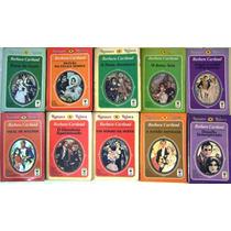Lote 10 Livros - Romance Rebeca Barbara Cartland Ed.de Ouro