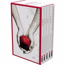 Box Saga Crepúsculo 5 Livros