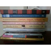 Lote 10 Livros Atuais Semi Novos Bestseller Fotos Reais