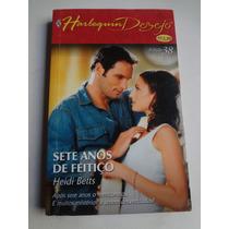 Livro Harlequin Desejo Dueto Ed . 38